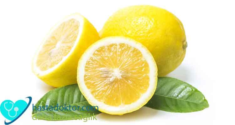 cilt bakımı için limon kullanmak
